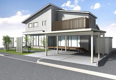 外構 新築 パナホーム
