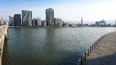 信濃川と萬代橋
